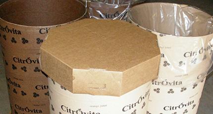 Tambores de papelão